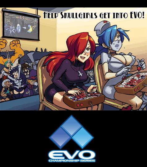 skullgirls into Evo